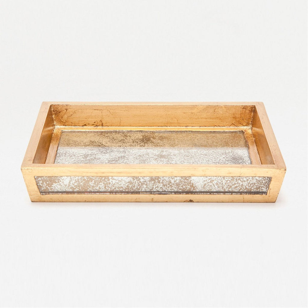 Pigeon and Poodle Atwater Rectangular Soap Dish, Tapered
