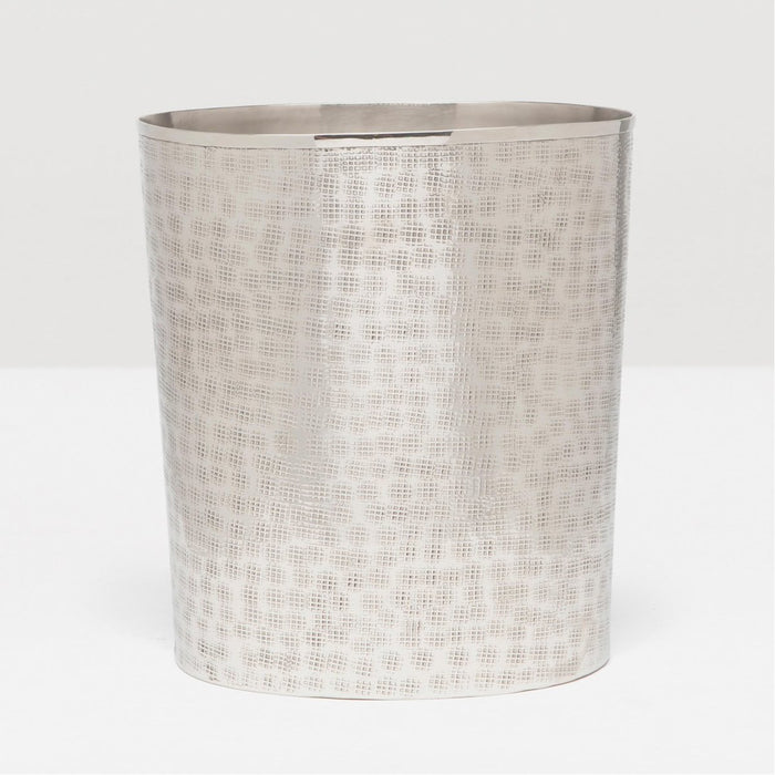 Pigeon and Poodle Buren Oval Wastebasket, Tapered