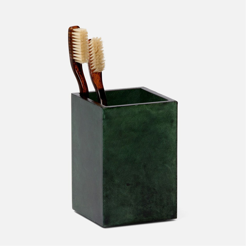 Pigeon and Poodle Carlow Square Brush Holder, Straight