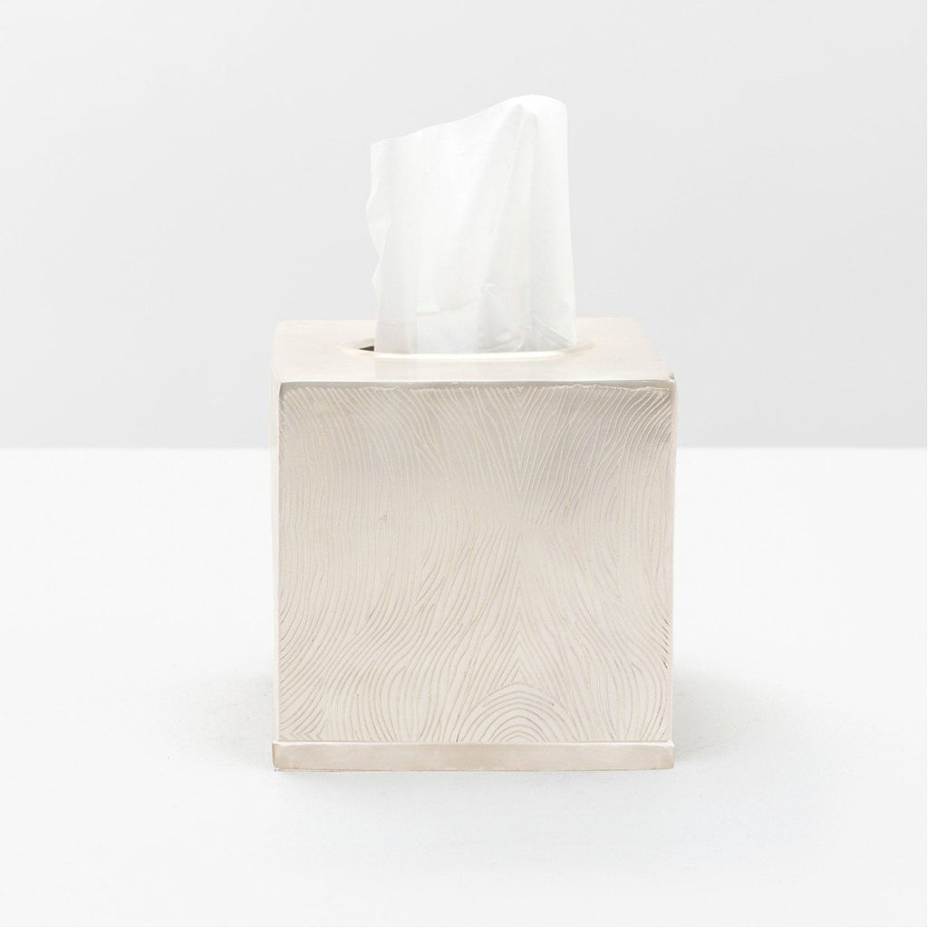 Pigeon and Poodle Humbolt Tissue Box, Square