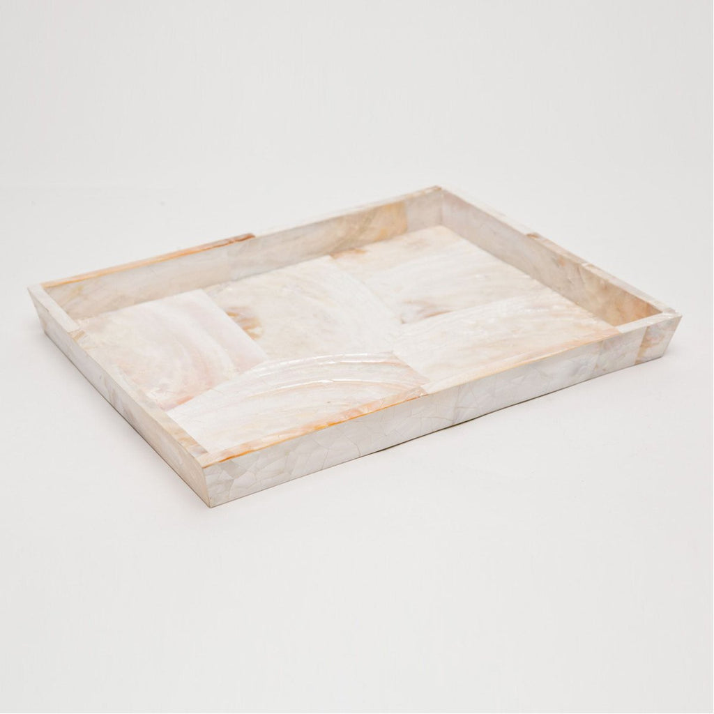 Pigeon and Poodle Lugano Rectangular Tray, Tapered