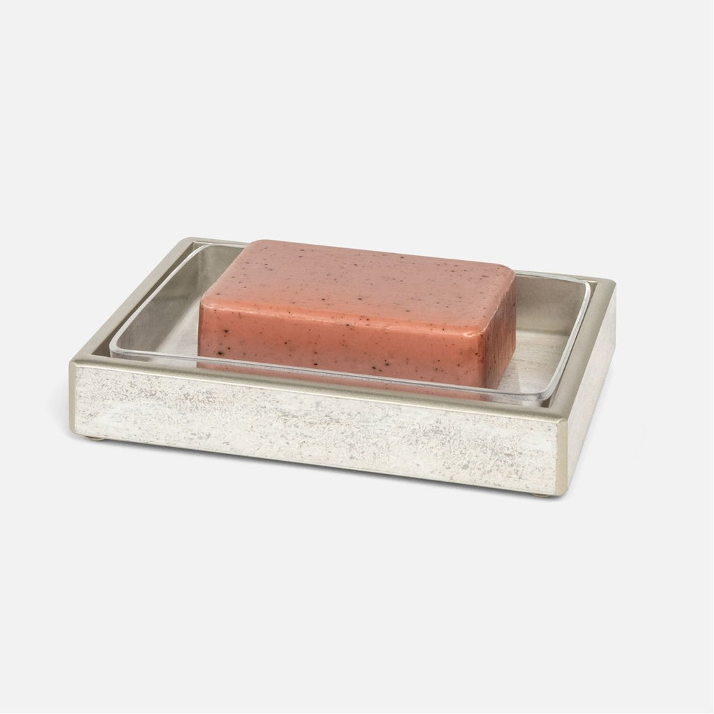 Pigeon and Poodle Nora Rectangular Soap Dish, Straight