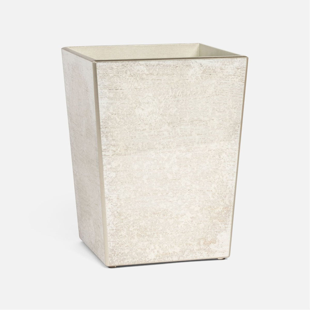 Pigeon and Poodle Nora Square Wastebasket, Tapered