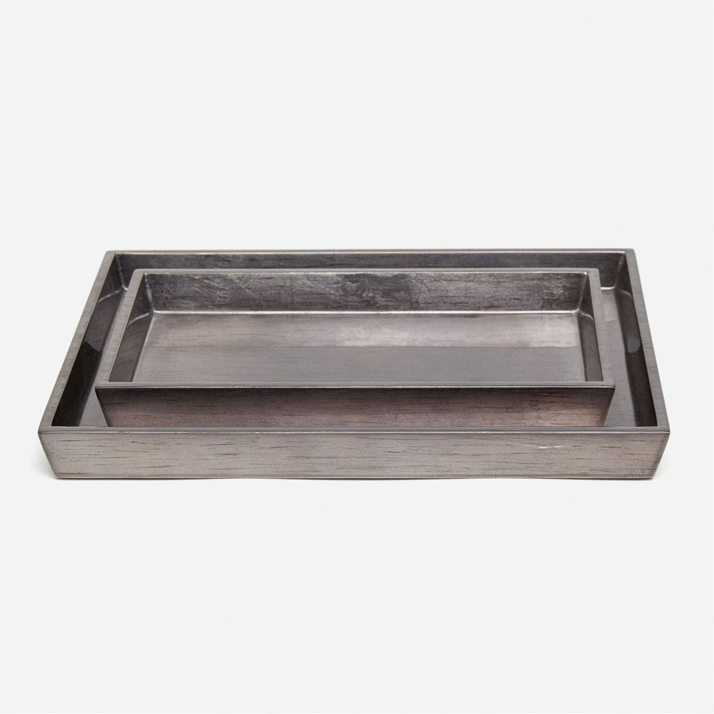 Pigeon and Poodle Tanlay Rectangular Tray - Tapered, 2-Piece Set