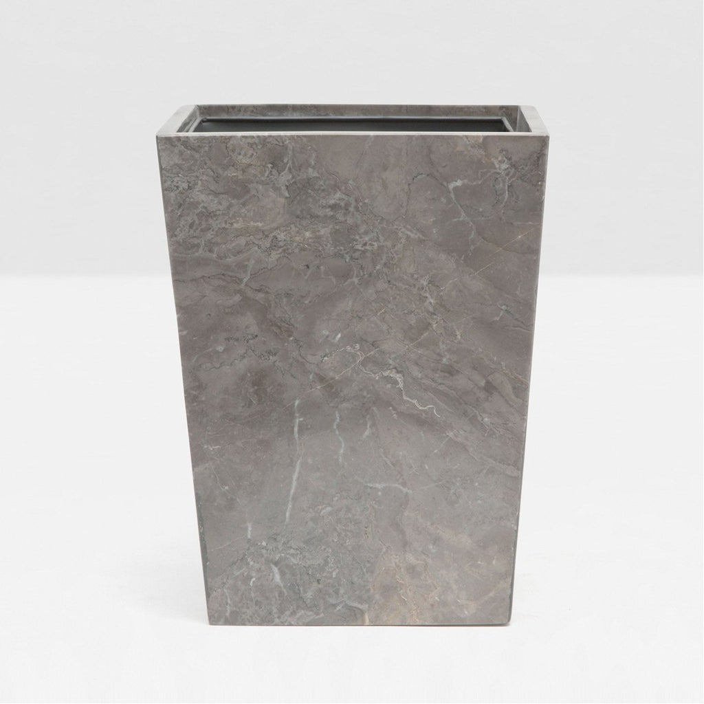 Pigeon and Poodle Veneto Rectangular Wastebasket, Tapered