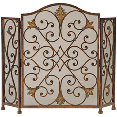 Ambella Home Rockefeller 3-Panel Fireplace Screen