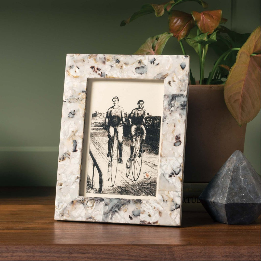 Pigeon and Poodle Tambor Oyster Frame