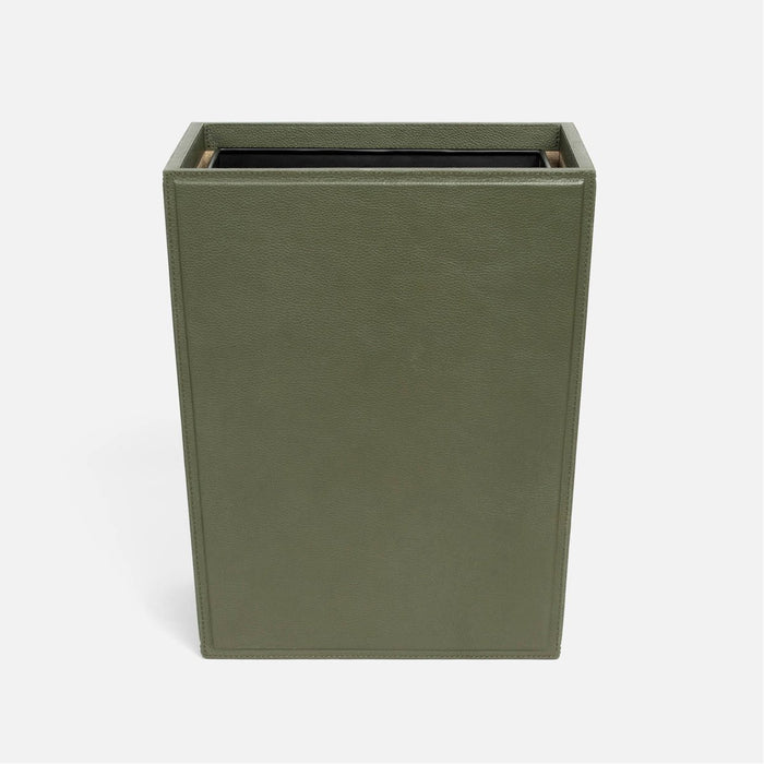 Pigeon and Poodle Asby Rectangular Wastebasket, Tapered
