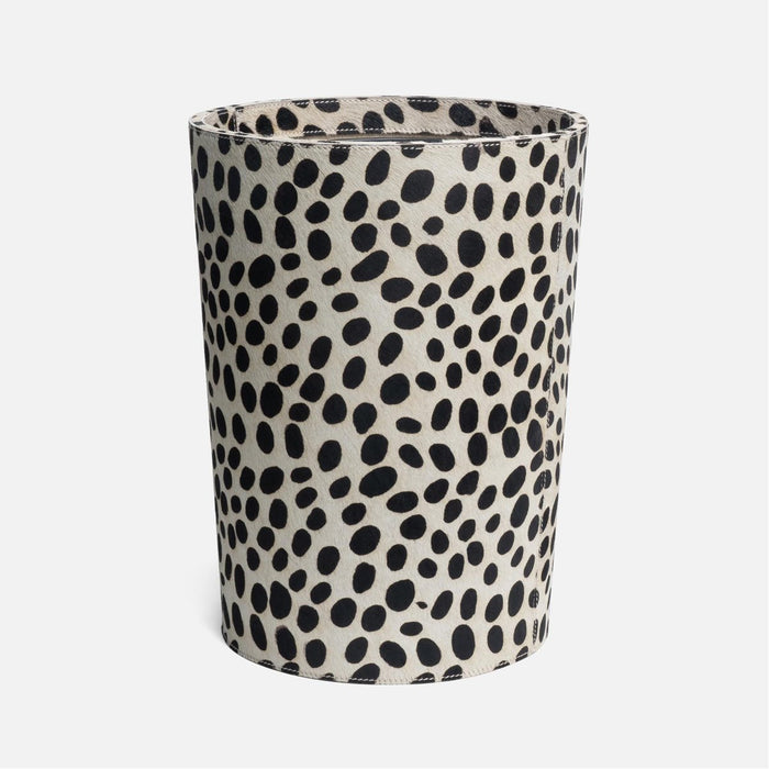 Pigeon and Poodle Lacey Round Wastebasket, Tapered