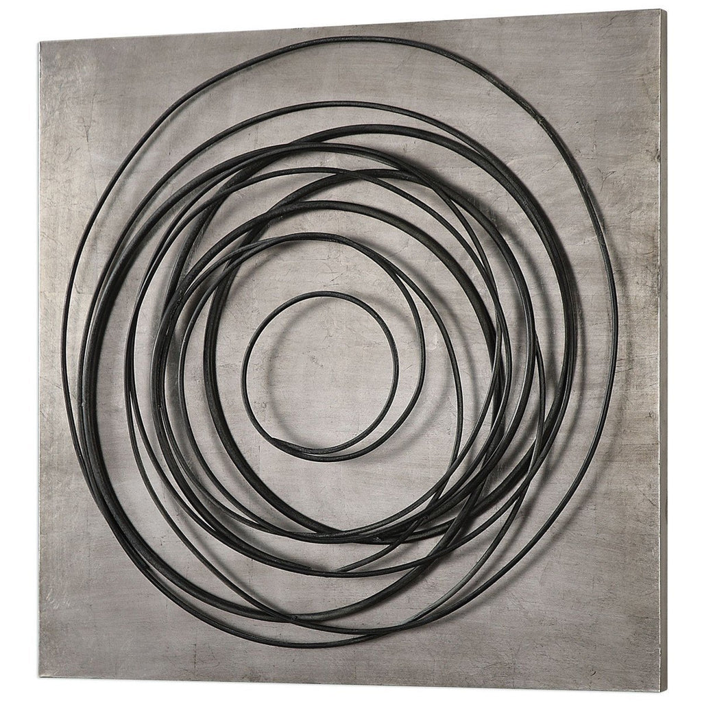 Uttermost Whirlwind Iron Coils Alternative Wall Decor
