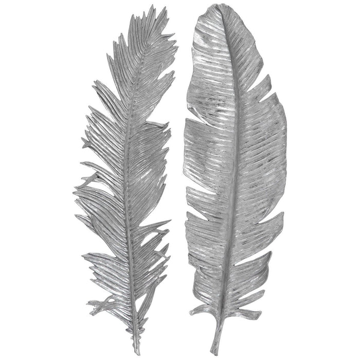 Uttermost Sparrow Silver Wall Decor, 2-Piece Set