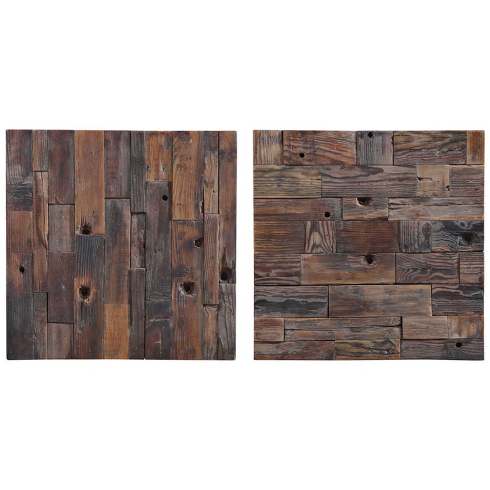 Uttermost Astern Wood Wall Decor - Set of 2