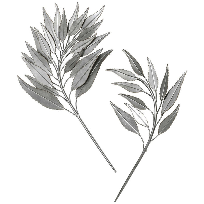 Uttermost Palm Branches Metal Wall Decor, 2-Piece Set