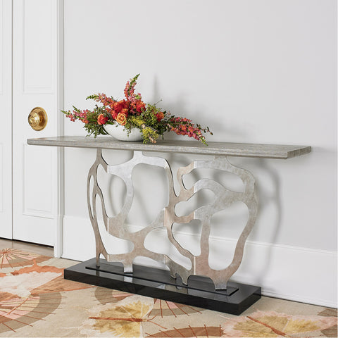 Ambella Home Sculpted Console