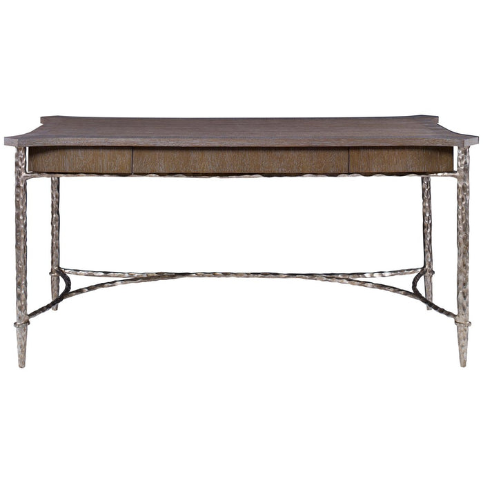 Ambella Home Chiseled Writing Desk - Driftwood