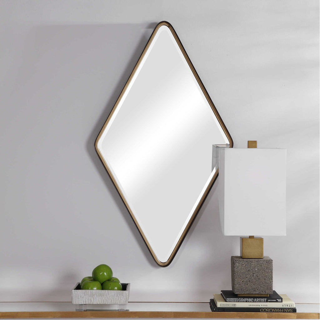 Uttermost Crofton Diamond Mirror