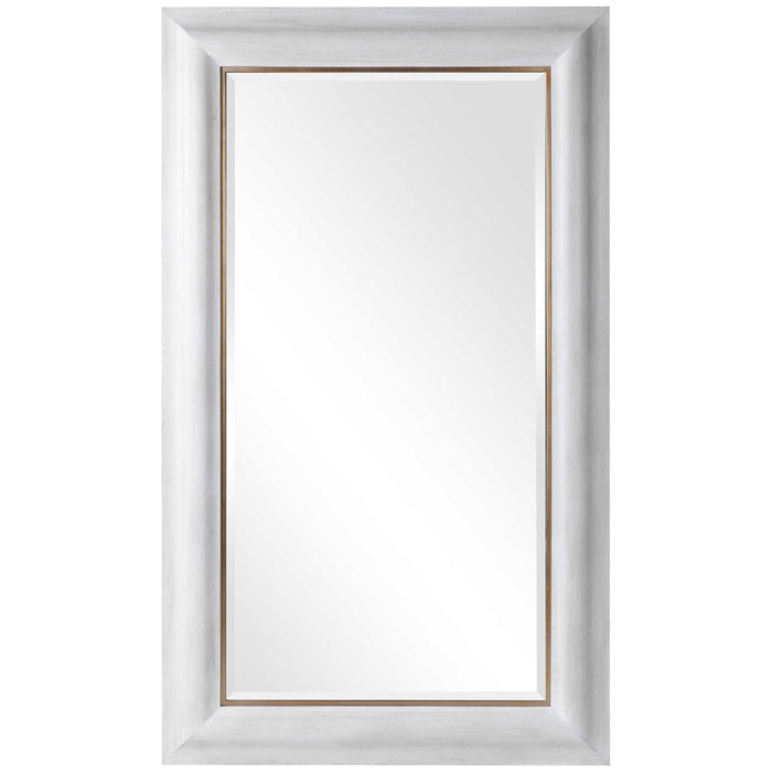 Uttermost Piper Large White Mirror