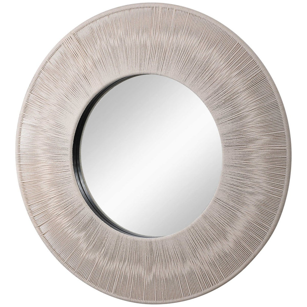 Uttermost Sailor's Knot Round Mirror