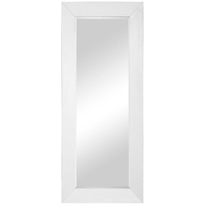 Uttermost Tybee White Oak Leaner Mirror
