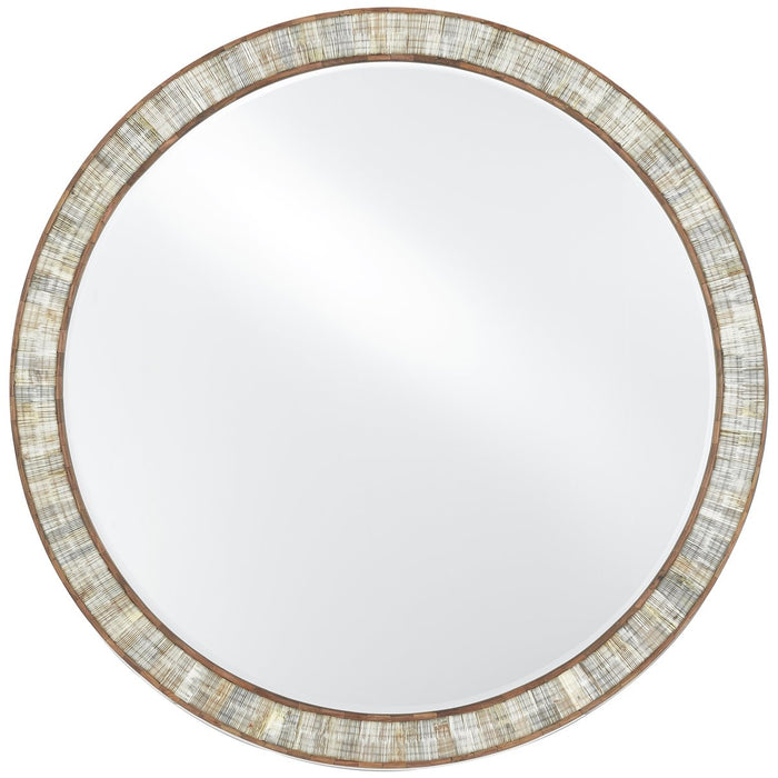Currey and Company Hyson Round Mirror