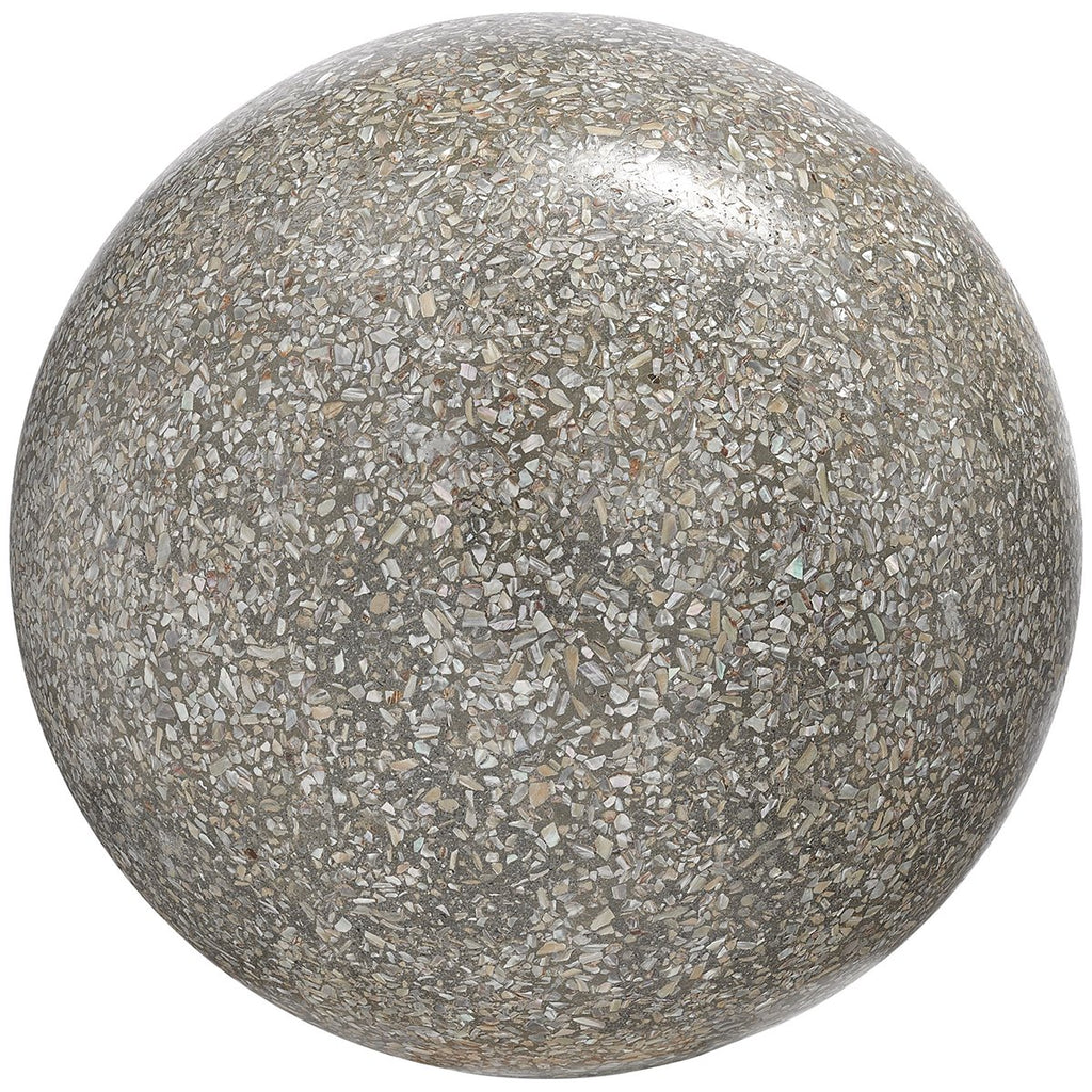 Currey and Company Abalone Concrete Ball