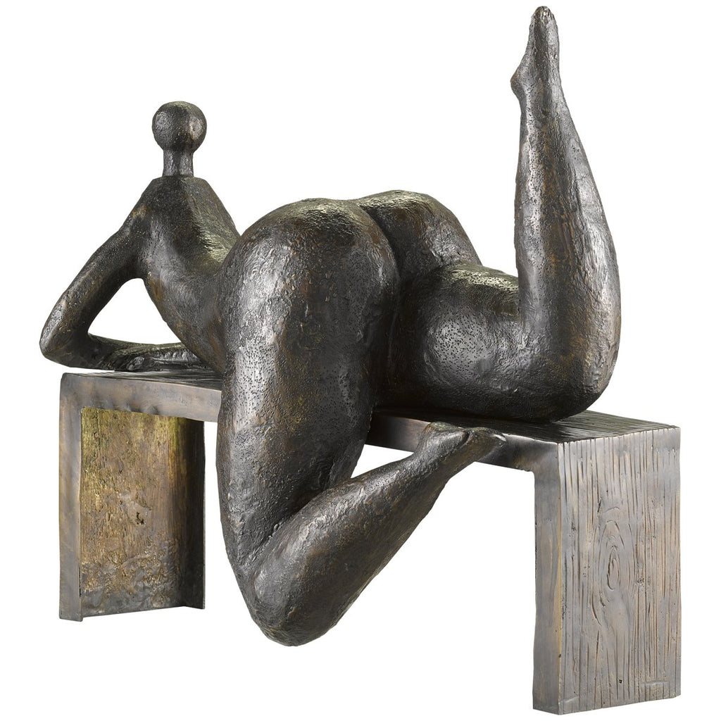Currey and Company Odalisque Bronze