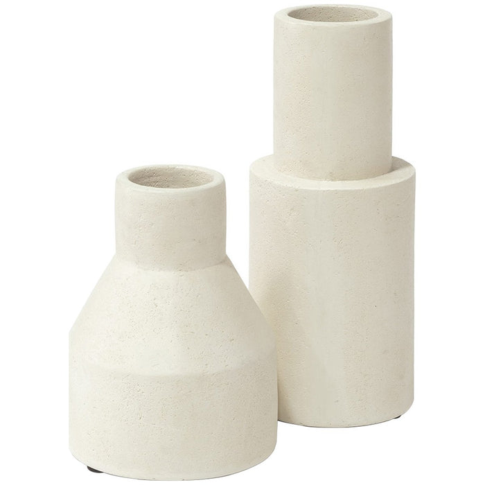 Palecek Nova Cylinder Urns - Small - Set of 2