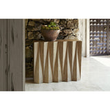 Ambella Home Accordion Console Table