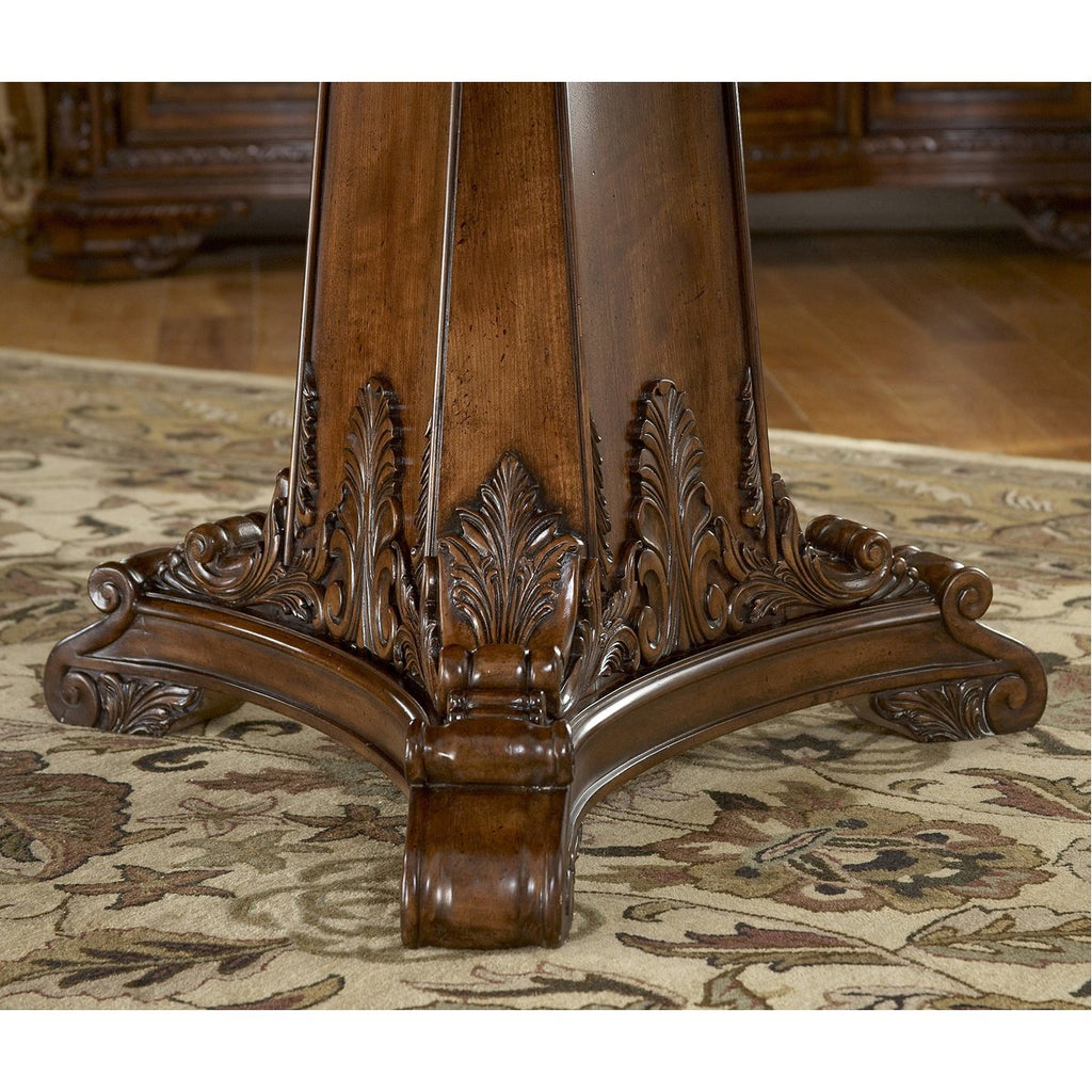 A.R.T. Furniture Old World Double Pedestal Dining Table