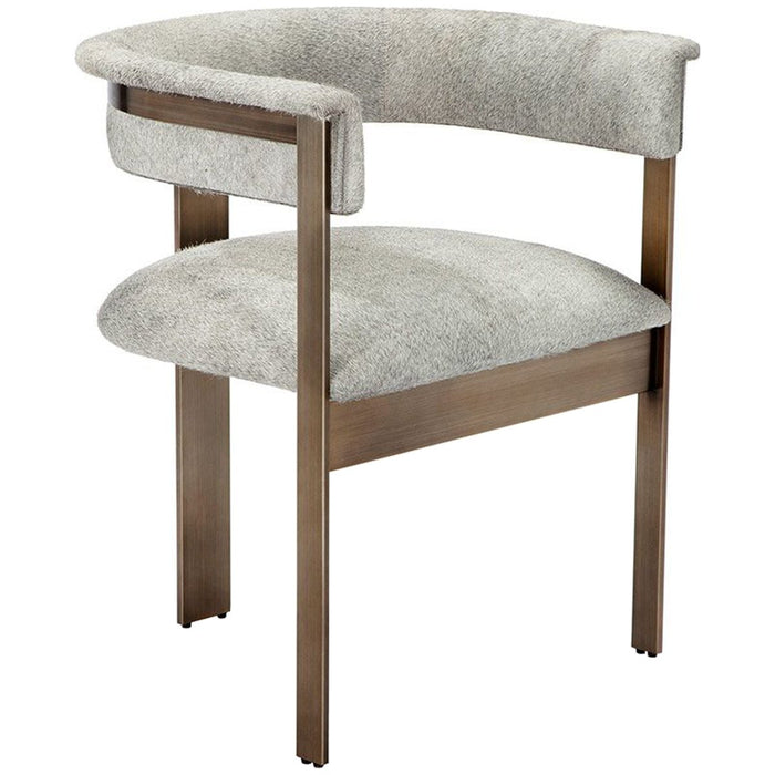 Interlude Home Darcy Hide Chair