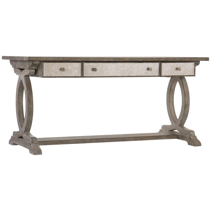 Hooker Furniture Rustic Glam Trestle Desk