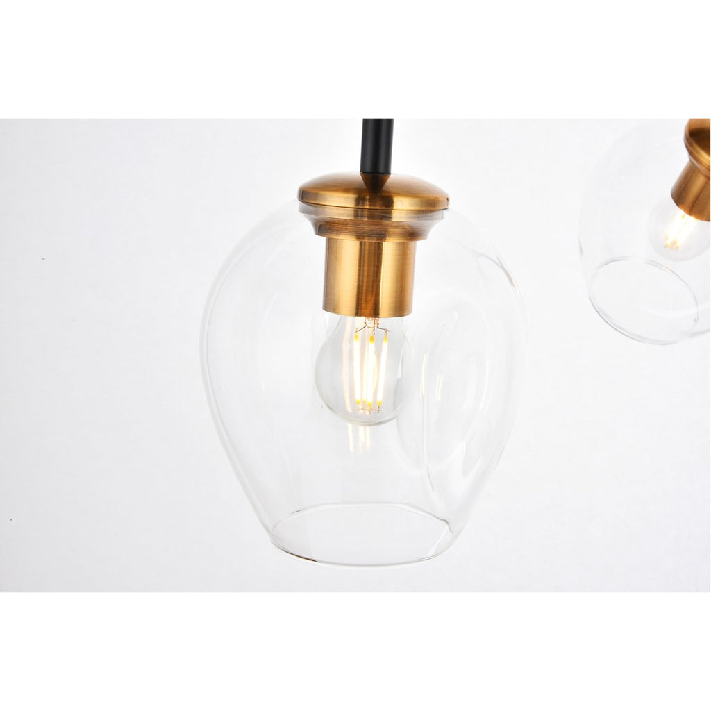 Elegant Lighting Cavoli 5-Light Pendant