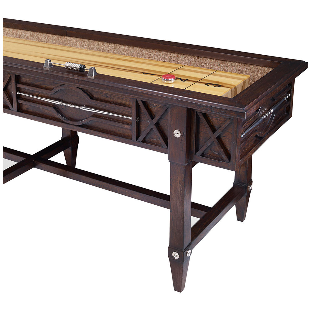 Ambella Home Spindle Shuffleboard Table - Walnut
