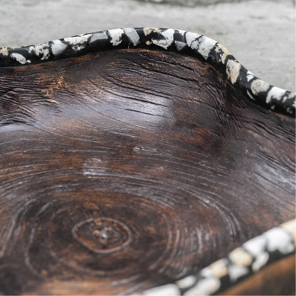Uttermost Chikasha Wooden Bowl - Large
