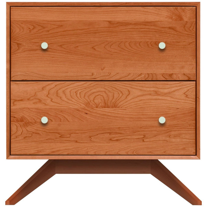 Copeland Furniture Astrid 2 Drawers Nightstand