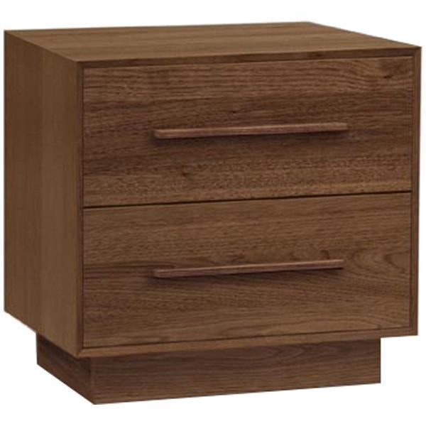 Copeland Furniture Moduluxe 2 Drawers Nightstand