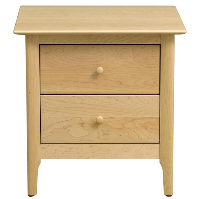 "Copeland Furniture Sarah 24"" 2 Drawer Nightstand"