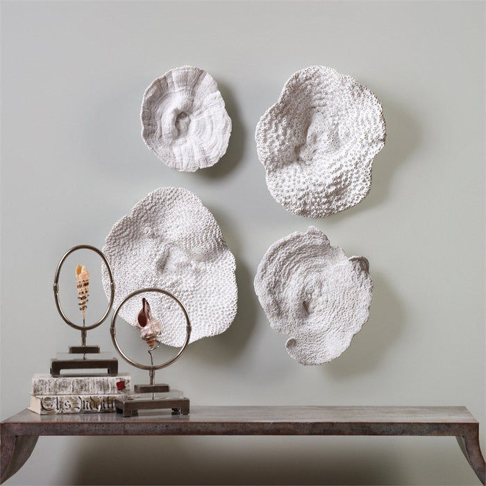 Uttermost Sea Coral Set of 4