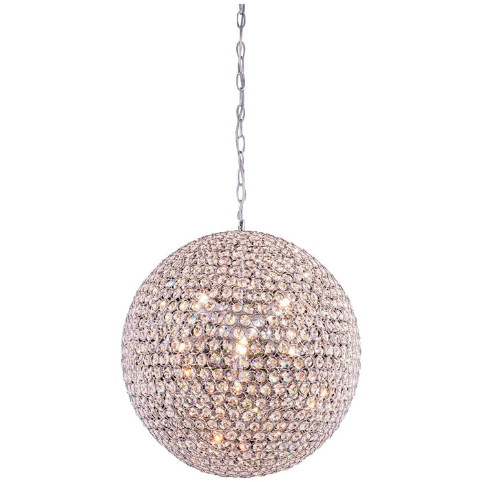 Elegant Lighting Cabaret 9-Light Chrome Pendant
