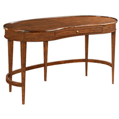 Woodbridge Furniture Veneered Marseille Kidney Desk