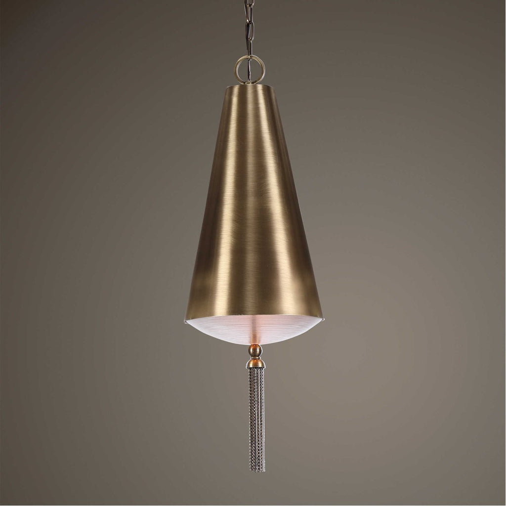 Uttermost Nador 1-Light Brass Pendant