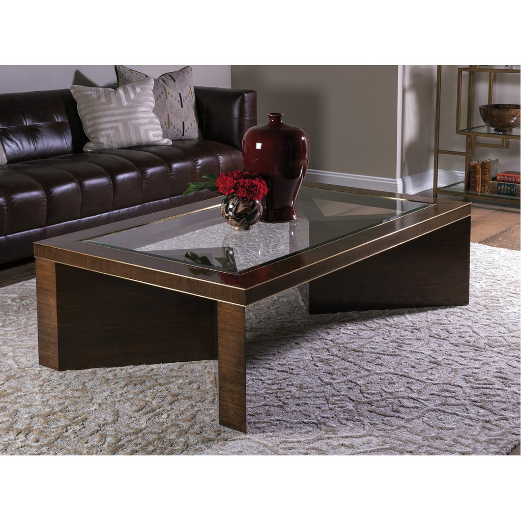 Artistica Home Marlowe Rectangular Cocktail Table