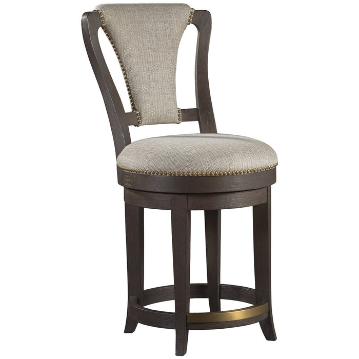 Artistica Home Verbatim Upholstered Swivel Counter Stool 01-2170-895-01