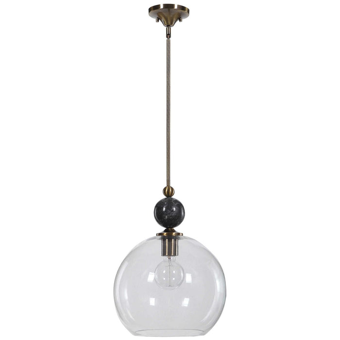 Uttermost Mendota 1-Light Glass Pendant