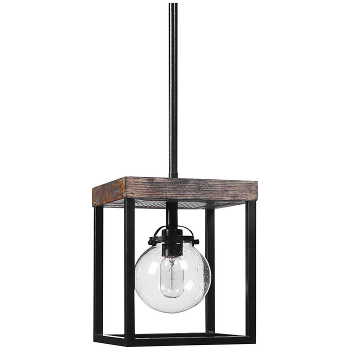 Uttermost Pearsall 1-Light Industrial Mini Pendant