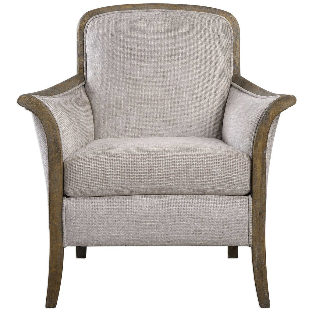 Uttermost Brittoney Taupe Armchair Chairs Ottomans Benjamin