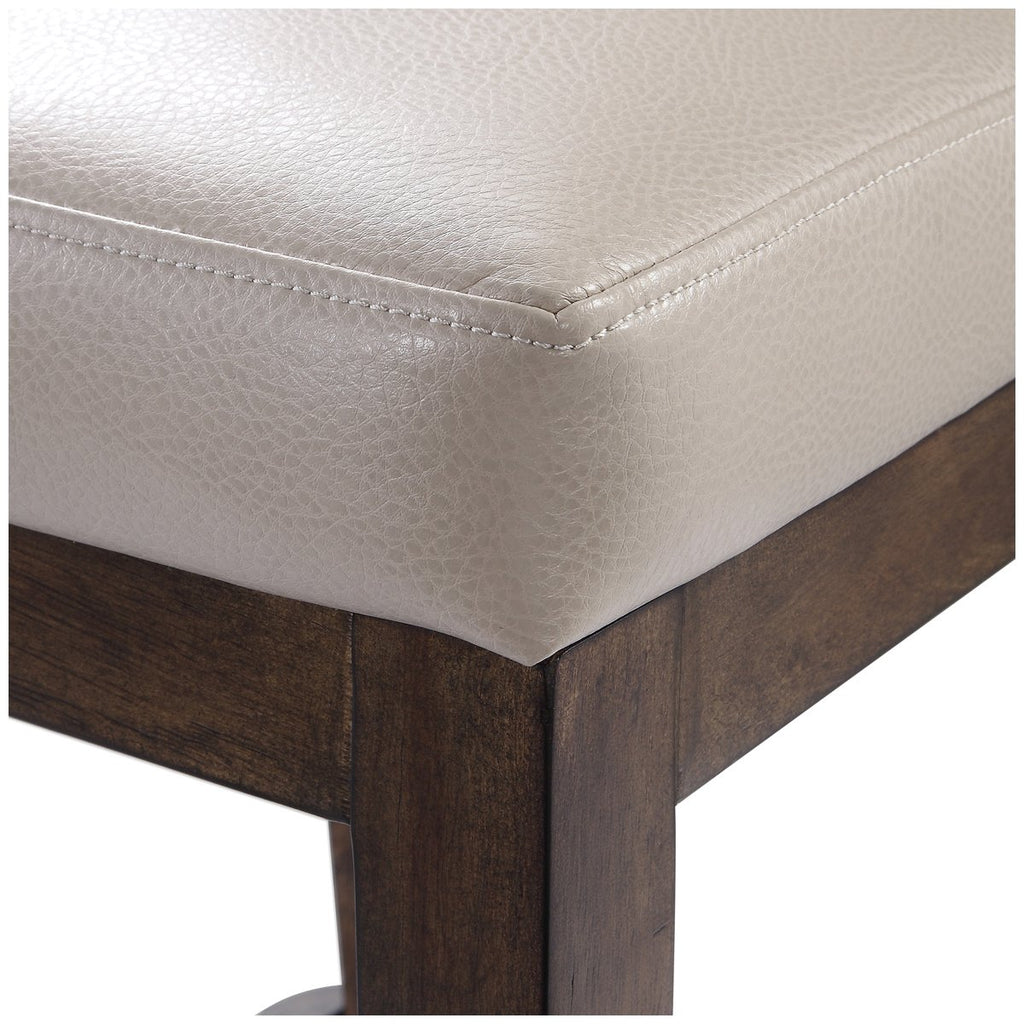 Uttermost Purcell Leather Counter Stool