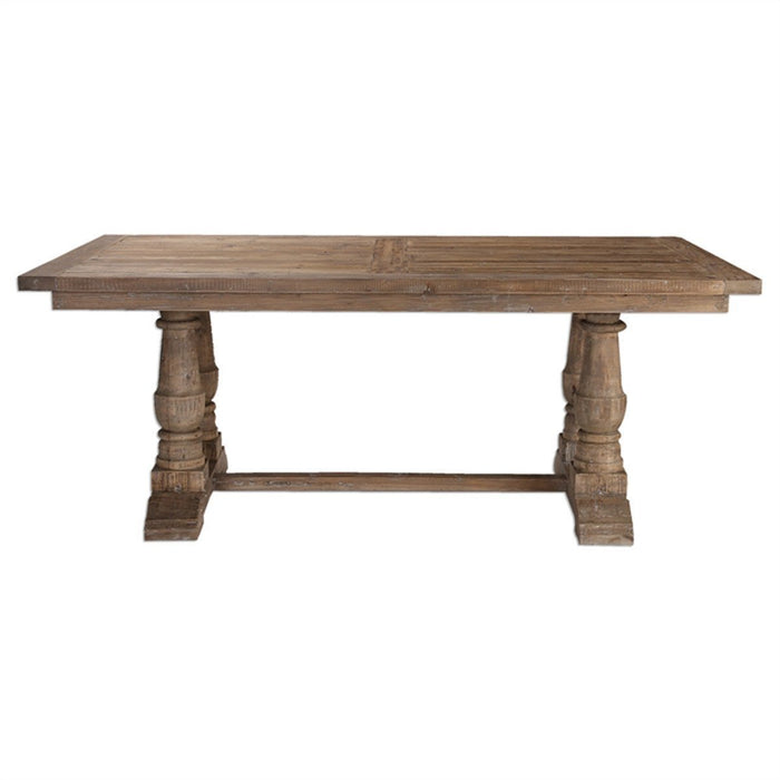 Uttermost Stratford Distressed Patina Dining Table