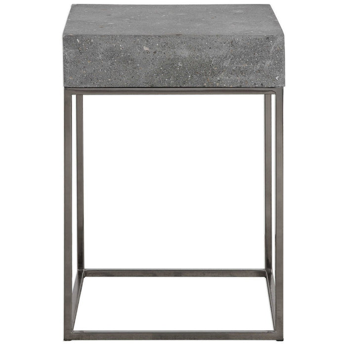 Uttermost Jude Concrete Accent Table