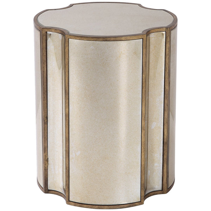 Uttermost Harlow Mirrored Accent Table